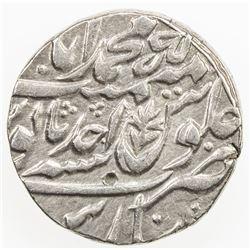 AWADH: AR rupee, Muhammadabad Banaras, year 1 (ahad). EF