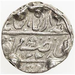 DHOLPUR: Kirat Singh, 1806-1837, AR rupee (10.98g), Dholpur, AH1228 year 17. VF