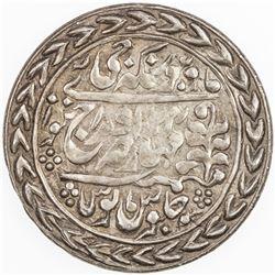 JAIPUR: Madho Singh II, 1880-1922, AR nazarana rupee (11.36g), Sawai Jaipur, 1903 year 24. EF