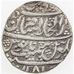 MARATHA: ATHANI: AR rupee (11.16g), Athani, AH1181. VF-EF