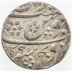 MARATHA: SIRONJ: AR rupee (11.11g), Sironj, AH1202 year 29. VF-EF
