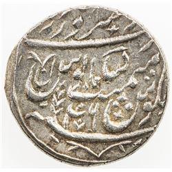 BENGAL PRESIDENCY: AR rupee (11.09g), Saharanpur, AH1219 year 46. EF-AU