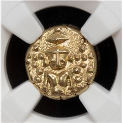 MADRAS PRESIDENCY: British Colony, AV pagoda, ND (1740-1807). NGC MS62