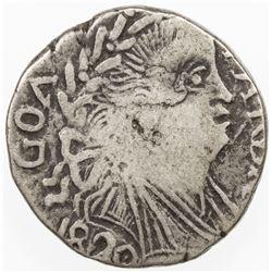 PORTUGUESE INDIA: GOA: Joao VI, 1816-1826, AR pardao (5.38g), 1820. F