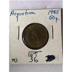 Beautiful 1985 ARGENTINA 50 Pesos MS High Grade