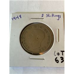 1948 Great Britain 2 Shillings