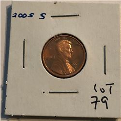 2005 S PROOF Lincoln Cent High Grade