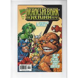 Heros Reborn Issue #4 by Marvel Comics