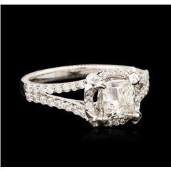 18KT White Gold 1.09 ctw Diamond Ring