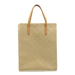 Louis Vuitton White Vernis Leather Catalina Tote Bag