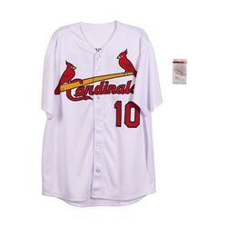 St. Luis Cardinals Tony LaRussa Autographed Jersey