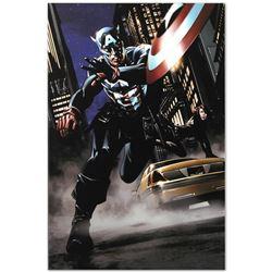 Captain America #34 by Marvel Comics