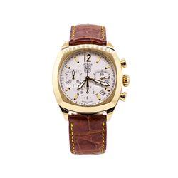 Tag Heuer Monza Wrist Watch - 18KT Yellow Gold