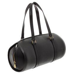 Louis Vuitton Black Epi Leather Soufflot Shoulder Bag