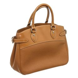 Louis Vuitton Brown Epi Leather Passy GM Shoulder Bag