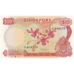 Singapore, 10 Dollars, 1972, UNC, p3cbr/serial number: A/93 464123, sign: Hon Sui Sen