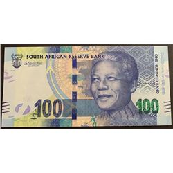 South Africa Republic, 100 Rand, 2018, UNC, pNewbr/serial number: SH 4950649D