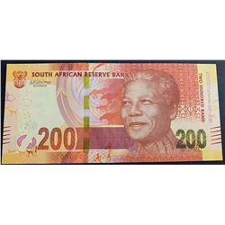South Africa Republic, 200 Rand, 2018, UNC, pNewbr/serial number: SA 0297107E