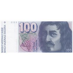 Switzerland, 100 Franken, 1993, UNC, p57br/serial number: 9303517913