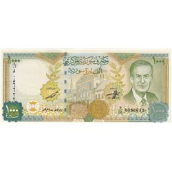 Syria, 1.000 Pounds, 1997, UNC, p111br/serial number: D/06 8086633
