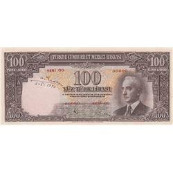 Turkey, 100 Lira, 1938, UNC, 2/1. Emission, p130, SPECIMENbr/Inönü portrait, serial number: 00 00000