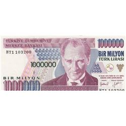 Turkey, 1 New Turkish Lira, 2005, UNC, 8/1. Emission, p216, Sequential prefix numbers, (Total 9 bank