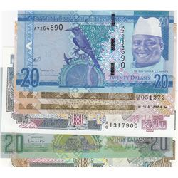 Mix Lot, 6 banknotes in whole UNC conditionbr/Zambia, 2 Kwacha (2), Zambia, 10 Kwacha, Zambia, 20 Kw