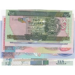 Mix Lot, 6 banknotes in whole UNC conditionbr/Solomon Islands 2 Dollars, Solomon Islands 5 Dollars,