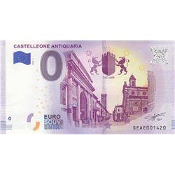 Fantasy banknotes, 0 Euro, 2018, UNC, Castelleone Aniquariabr/