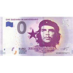Fantasy banknotes, 0 Euro, 2018, UNC, Che Guevarabr/Che Guevara 90. Anniversary fantasy banknot