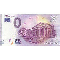 Fantasy banknotes, 0 Euro, 2018, UNC, Romabr/