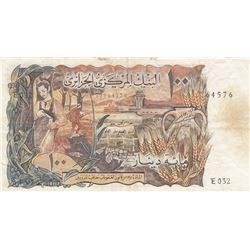 Algeria, 100 Dinars, 1970, VF, p128br/serial number: 77964576