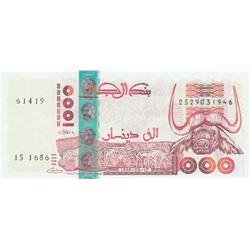 Algeria, 1.000 Dinars, 1998, UNC, p142bbr/serial number: 2529031946