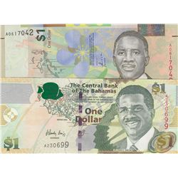 Belize 100 Dollars p-71 2017 UNC Banknote