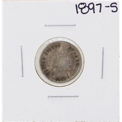 1897-S Barber Liberty Dime Coin