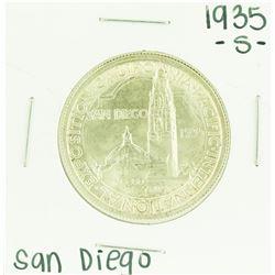 1935-S San Diego Exposition Commemorative Half Dollar Coin