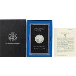 1884-CC $1 Morgan Silver Dollar Coin GSA Hoard Uncirculated w/ Box & COA