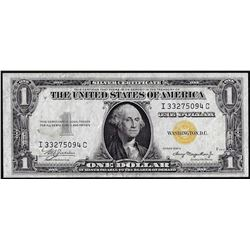 1935A $1 North Africa Silver Certificate WWII Emergency Note