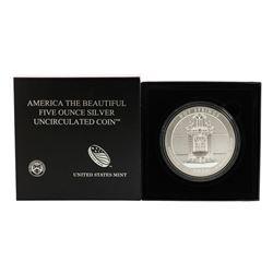 2010 ATB Hot Springs Arkansas 5 Ounce Silver Coin with Box