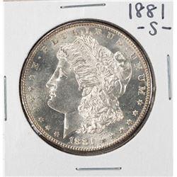 1881-S $1 Morgan Silver Dollar Coin