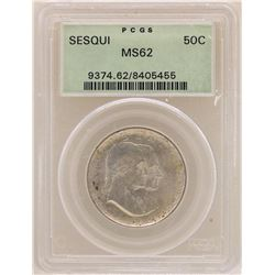 1926 Sesquicentennial Half Dollar Coin PCGS MS62