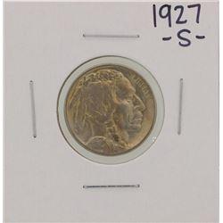 1927-S Buffalo Nickel Coin
