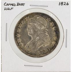 1826 Capped Bust Half Dollar Silver Coin
