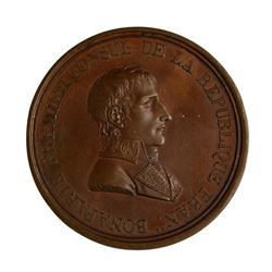 1801 Napoleon Pace of Luneville Medal