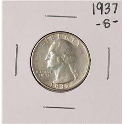 1937-S Washington Quarter Coin