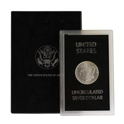 1887 $1 Morgan Silver Dollar Coin Uncirculated GSA w/Box