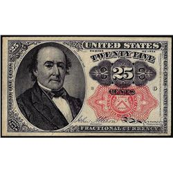 1874 Fifth Issue Twenty-Five Cent Fractional Currency Note
