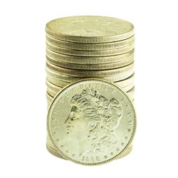 Roll of (20) Brilliant Uncirculated Mixed Date Pre-1921 $1 Morgan Silver Dollar Coins