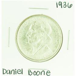 1936 Daniel Boone Commemorative Half Dollar Coin