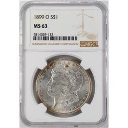 1899-O $1 Morgan Silver Dollar Coin NGC MS63